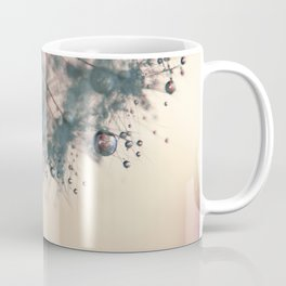 dandelion rose pink Coffee Mug
