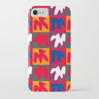 matisse iPhone & iPod Cases featuring M for Matisse by CHOCOLORS