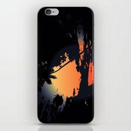 Returning at Sunset iPhone Skin