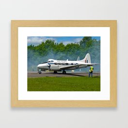 De Havilland DH104 Devon Framed Art Print