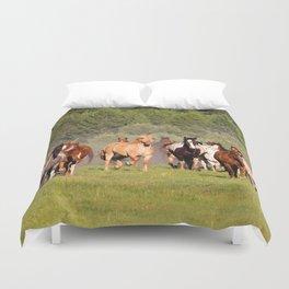 Horse Power Duvet Cover