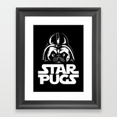 Welcome to the Dark Side Framed Art Print