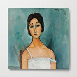 "Amedeo Modigliani ""Christina"" Metal Print"