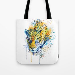 Lurking Leopard Tote Bag