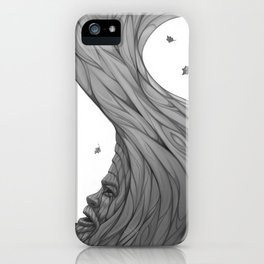 The Gods are always watching iPhone Case