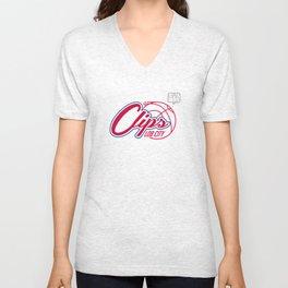 Clips Lob City Unisex V-Neck