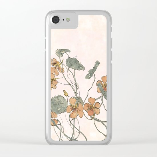 Winding Clear iPhone Case