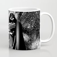 vader Mugs featuring Vader by Saundra Myles