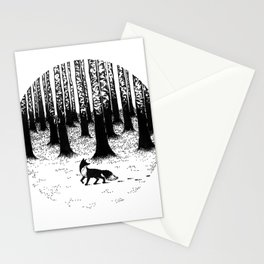 Snow Fox Stationery Cards