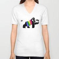 gaming V-neck T-shirts featuring Gaming or not Gaming by Arian Noveir