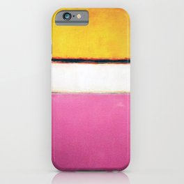 1950 White Center by Mark Rothko HD iPhone Case