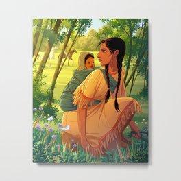 Sacagawea Metal Print
