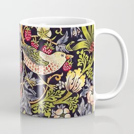 William Morris Strawberry Thief Art Nouveau Painting Coffee Mug