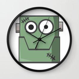 Cartoon Frankenstein Wall Clock