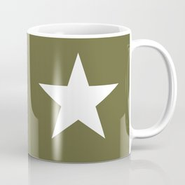 Army Star Coffee Mug