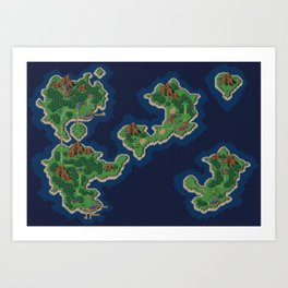 Chrono Trigger 1000AD Art Print