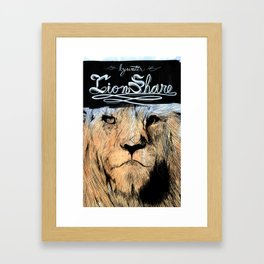 Bywater - Lionshare Framed Art Print