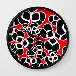 "Koloman (Kolo) Moser ""Textile pattern (Cloverleaf / Shamrock)"" (1) Wall Clock"
