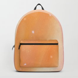Peachy Sherbet (Dreamy Abstract Art) Backpack