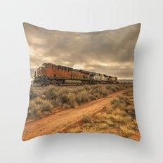 New Mexico Freight  Throw Pillow