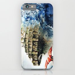 """The castle in the sky"" iPhone Case"