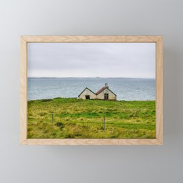 Twin Houses Framed Mini Art Print