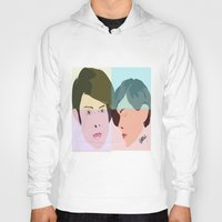 tegan and sara Hoodies featuring TEGAN AND SARA  by NURUL A.
