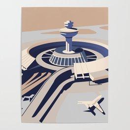 Soviet Modernism: Zvartnots airport, Armenia Poster