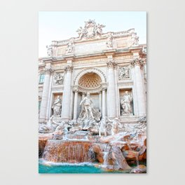Fontana di Trevi Canvas Print