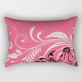 Vibrant Floral Nature Rectangular Pillow