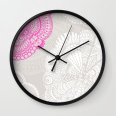 Doodle Doiley Wall Clock
