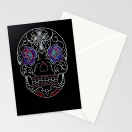 Neon Decay Stationery Cards