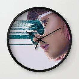 Adfskhljg eyes. Wall Clock