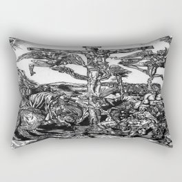 Hemmorrhage Rectangular Pillow