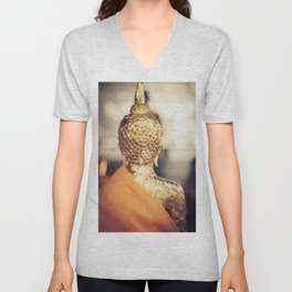 Buddha the other side Unisex V-Neck