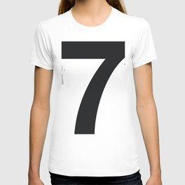 Nº7. Helvetica Posters by empatía® T-shirt