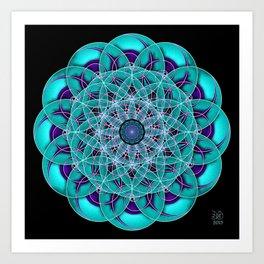 Finding Higgs Boson Art Print
