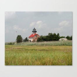 Historic East Point Light Canvas Print