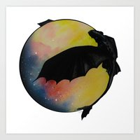 toothless Art Prints featuring Toothless by Emilee's Fine Art