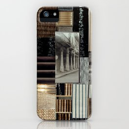 Collage - Lines iPhone Case