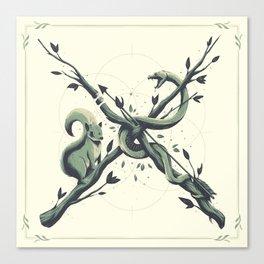 """X"" Canvas Print"