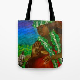 The Legend of the Taro Tote Bag
