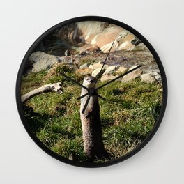 Ollie the Otter  Wall Clock