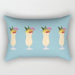 Tropical Piña Colada Rectangular Pillow