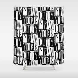 In a New York City Frame of Mind Shower Curtain