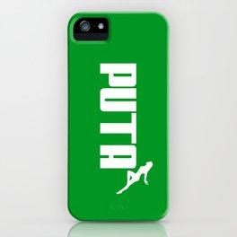 PUTA - PUMA PARODY iPhone Case