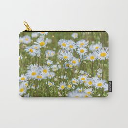 Oxeye Daisies Carry-All Pouch