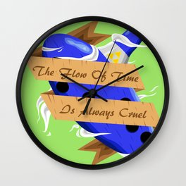 The Flow of Time is Always Cruel Wall Clock