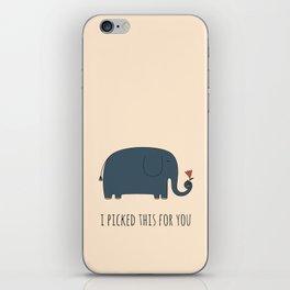 Cute Elephant iPhone Skin
