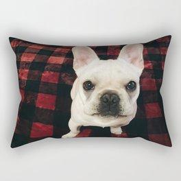 Buffalo dog Rectangular Pillow